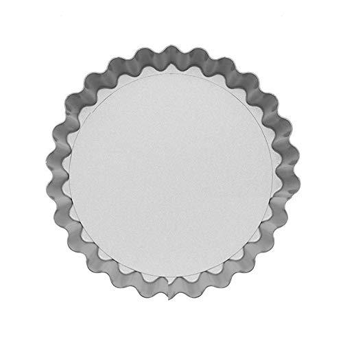 Fuente de Horno Torta de la empanada de tartas molde de la bandeja for hornear pizza sostenedor del plato sartén antiadherente Recipiente de aleación de aluminio de 6 pulgadas Mini Pie for hornear ant