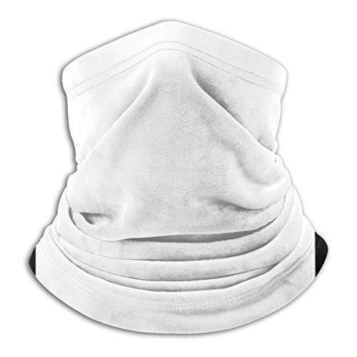 ULNIKU-T Braga de cuello de banda, color blanco y negro, con diseño de calavera y huesos cruzados, color negro y unisex, sin costuras, para el cuello, protección UV, bufanda facial