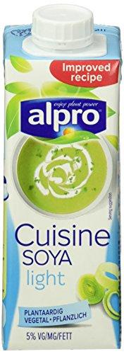 Alpro Soja - Kochcréme Cuisine light, 15er Pack (15 x 250 ml)