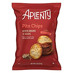 Aplenty, Seven Grains and Seeds Pita Chips, 8 oz
