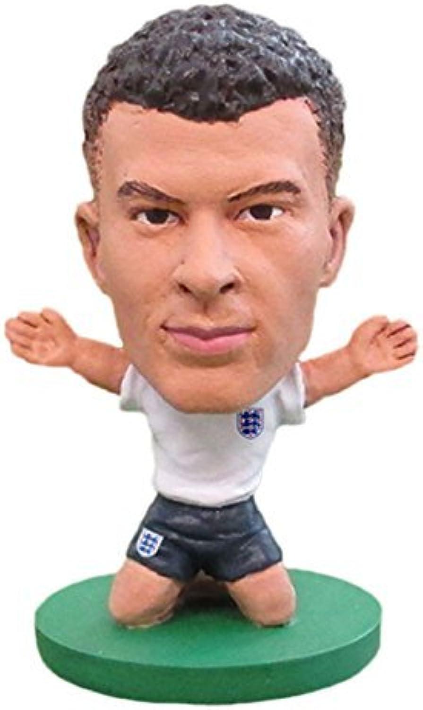 SoccerStarz SOC1041 The Officially Licensed England National Team Figure of Dele Alli in Home Kit by SoccerStarz