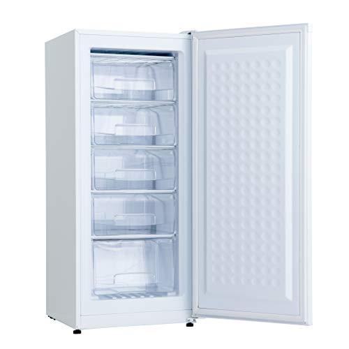 ALLEGiA アレジア 冷凍庫 138L 家庭用 前開き 4段引き出し AR-BD146-NW