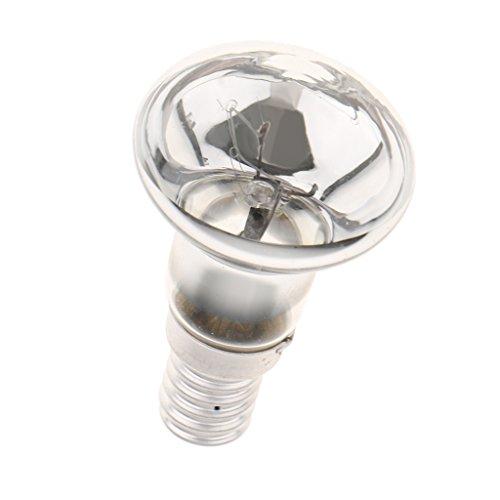 B Blesiya Foco de Bombilla Punto Lava Lámparas de Techo Arañas Colgante E14 Cristal de 25W Repuestos de Recambio
