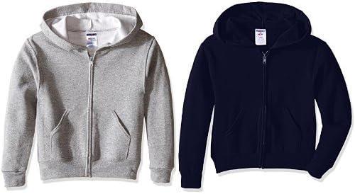Jerzees Youth Full Zip Hooded Sweatshirt
