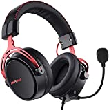 Mpow Air SE Cuffie Gaming 3,5 mm per PS4, PS5,Xbox One, PC, Switch Cuffie Over-ear con Audio Surround con Microfono con Cancellazione de Rumore, Cuffie da Gioco