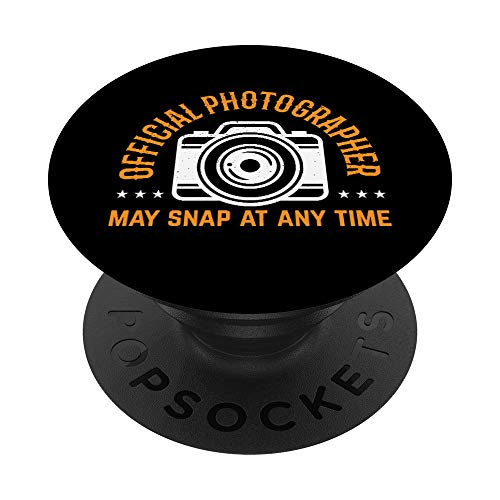 Official Photographer May Snap At Any Time Camera Hobby PopSockets Grip and...