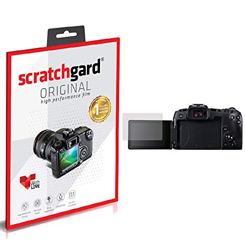 Scratchgard Anti-Bubble and Anti-Fingerprint Camera Screen Protector for Canon EOS RP
