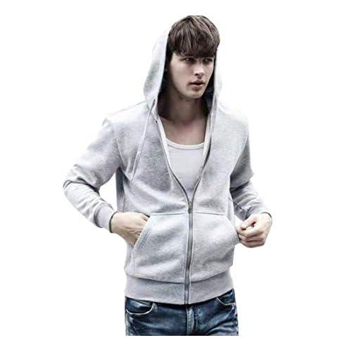 41OJWlM9ZyL. SS500  - SKeshine Mens Hoodie Sweatshirt Long Sleeve Hooded Jackets Fleece Lined with Zipper
