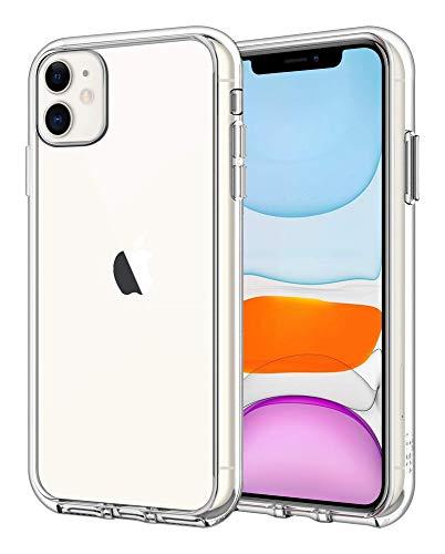 JETech Cover Compatibile iPhone 11 6,1', Custodia Case con Assorbimento degli Urti e Anti-Graffio, Trasparente HD Chiaro