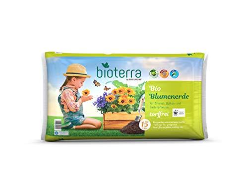 DHG BIOTERRA Bio Blumenerde Torffrei 15l