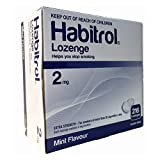 Habitrol Nicotine Lozenge 2mg Mint Flavor. 2 Packs of 216 Lozenges...