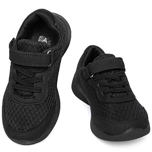 ziitop Boys Girls Sneakers Lightweight Breathable Air Athletic Running Shoes Fashion Sport Gym Jogging Tennis Walking Shoes