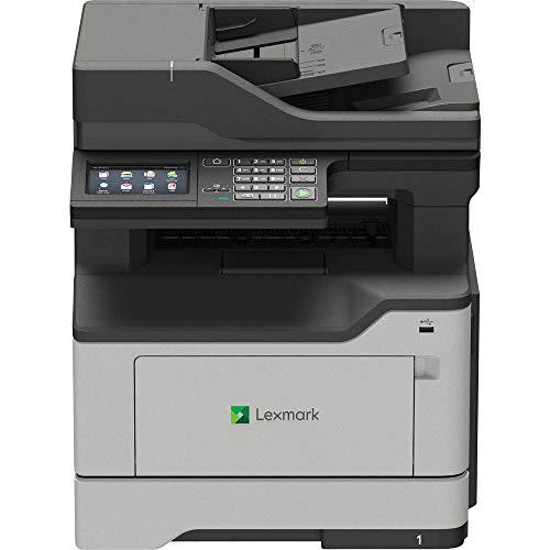 Lexmark MB2442ADWE 4-in-1 Monolaser-Multifunktionsgerät (Drucker, Kopierer, Scanner, Fax, WLAN, LAN, bis zu 40 S./Min., autom. beidseitiger Druck, 10,9 cm-Touchscreen) schwarz/grau