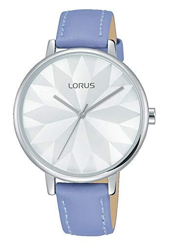 Lorus Damen-Armbanduhr XS Classic Analog Quarz Leder RH764AX9