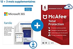 Microsoft 365 (+Norton/McAfee GRATUIT) et Windows 10