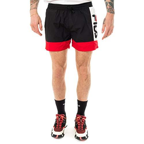 Fila - Bañador 687743 Men Yumma Swim Shorts Black - 687743A572 - Schwarz, Large