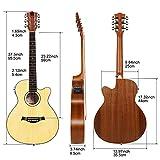 Immagine 1 vangoa chitarra acustica 36 pollici