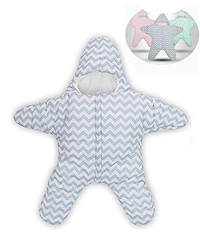 Himom 100% Cotton Newborn Baby Starfish Sleeping Bag Sack...