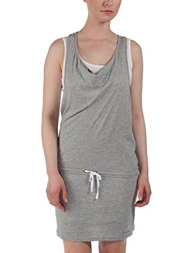 Bench Damen Kleid Trägerkleid Mixxie grau (Grey Marl) X-Small