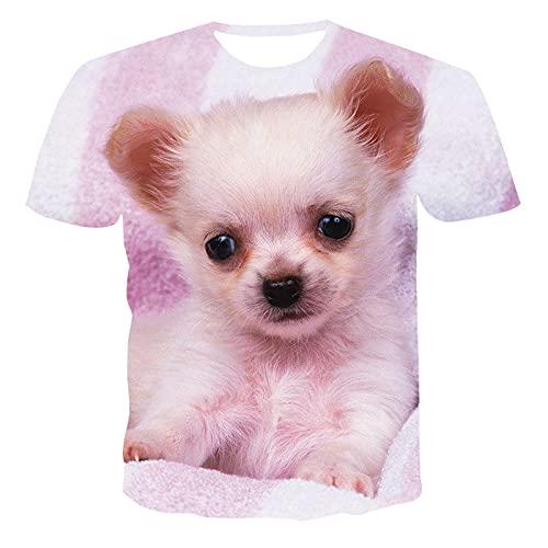 SSBZYES Camisetas De Manga Corta para Hombre Verano Camisetas De Manga Corta De Gran Tamaño para Camisetas con Estampado Lindo De Mujer Tops Camisetas De Pareja De Moda con Estampado De Cachorros