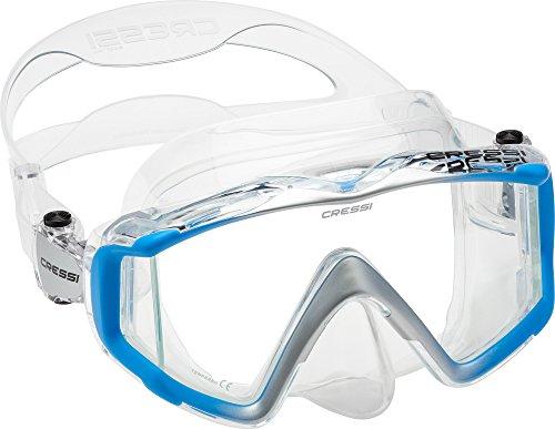 Cressi Liberty - Tauchen, Apnoe und Schnorchelmaske - Erhältlich in der Version mit Zwei/Drei Gläsern