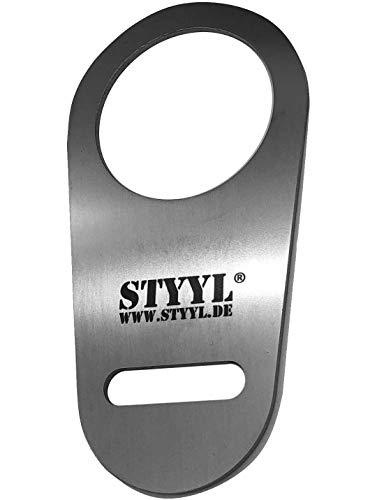 STYYL Edelstahl Sicherung passend für den Adblue Verschluss an Kastenwagen (Ducato, Jumper, Boxer) Adblue Tank Deckel - auch für das Modell 2021!