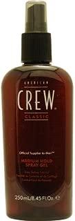 AMERICAN CREW by American Crew SPRAY GEL MEDIUM HOLD 8.45 OZ (Package of 6)