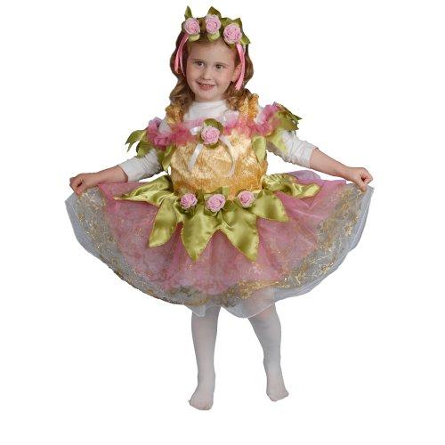 Dress Up America Kleines Mädchen Ballerina Kinderkostüm Set