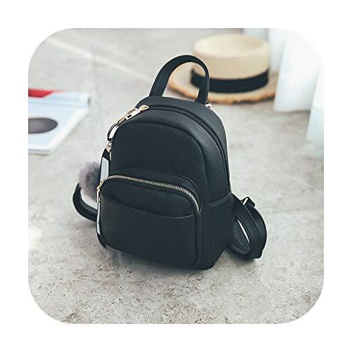 Hopereo Mini mochila de moda de cuero para mujer, multifunción, para adolescentes y niñas, color, talla Talla única