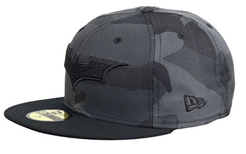 New Era - Dc Comics - 59fifty Basecap - Batman - Camohero - Black - 7 5/8 - 61cm (XL)