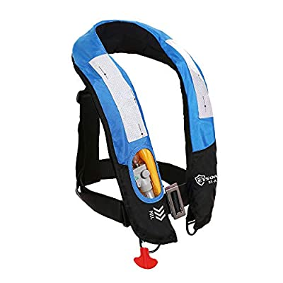 Eyson Inflatable Life Jacket Life Vest Highly Visible Automatic Blue