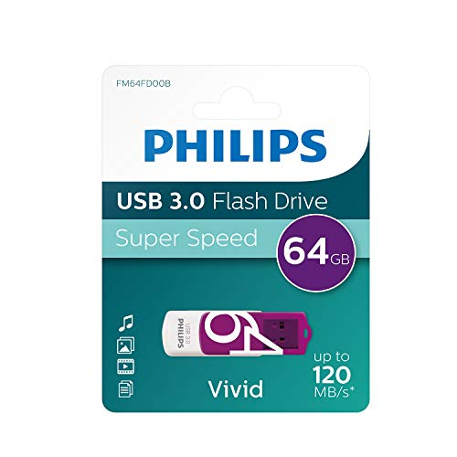 Philips USB flash drive Vivid Edition 64GB, USB3.0