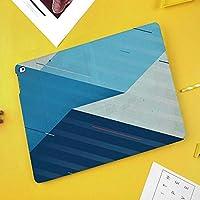 印刷者iPad Mini ケース クリア iPad Mini2 ケース レザー PU iPad Mini3 ケース 軽量 スタンド機能 傷つけ防止 オートスリープ ハード二つ折 抽象的な方法で表現された様々な幾何学的図形や線装飾