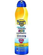 Banana Boat KIDS Advanced Protection - Crema solar en spray para niños que hidrata la piel y la protege de los rayos UVA/UVB,SPF 50, 220 ml