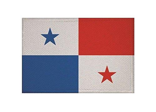 U24 Aufnäher Panama Fahne Flagge Aufbügler Patch 9 x 6 cm