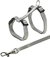 continuously adjustable tape leash  with snap buckles various colours