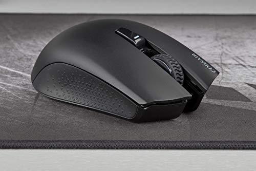 Corsair Harpoon Kabellose RGB Wiederaufladbare Optisch Gaming-Maus (mit SLIPSTREAM Technologie, 10.000DPI Optisch Sensor, RGB LED Hintergrundbeleuchtung) schwarz - 11