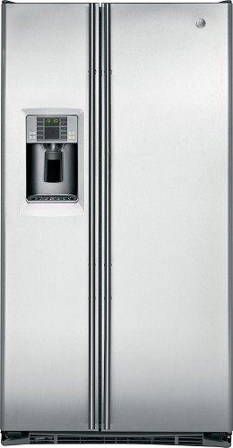 General Electric RCE 24 VGBF SS - Amerikanischer Kühlschrank / Kühlschrank side by side / Kühlschrank aus Edelstahl - Einbau-Kühlschrank - Energieklasse A+ - 2 Jahre Garantie