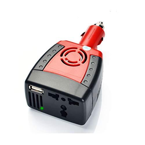 GQFGYYL Car Inverter150W 12V DC to 220V AC Cigarette Lighter Power Supply Inverter Adapter with 0.5 USB Charger Port