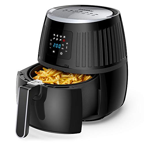Innsky 3.5L friteuse sans huile, 1500W, friteuse à air chaude avec...