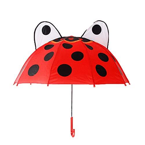 Ballon Mignon Dessin animé Enfants Parapluie Animation créative Longue manipulée Oreille de l'oreille modélisation des Enfants Parapluie for garçons Filles fête (Couleur: 7) WULOVEMI (Color : 1)