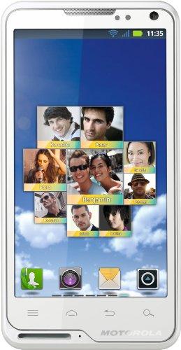 Motorola MOTOLUXE SM3073AH4R8 Color blanco - Smartphone (10,16 cm (4 ), 480 x 854 Pixeles, 16,0M, 0,8 GHz, 32 GB, 300 MB)
