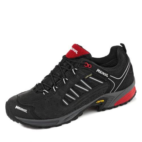 Meindl Chaussures SX 1.1 GTX Homme - Noir/Rouge - Noir/Rouge, 46