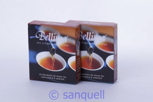 Bellima Filterfächer - Das MUSS für Teetrinker (2 Pakete á 30 St.)