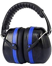FITYLE Oorbeschermers voor kinderen en volwassenen, opvouwbaar design, verstelbare gevoerde hoofdband, geluidsreductie