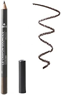 Avril - Organic Eyebrow Filler Pencil - Ultra Brown - Define Eyebrows with Natural Effect - Not Tested on Animals - Made in France