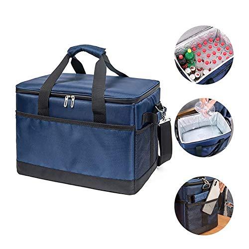 ZR&YW 35L Picknick Kühltasche, Halten Warm Und Kalt, Sturdy Kühltasche Ideal Für Picknick Auf Reisen Oder Camping