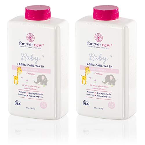 Forever New Baby Hypoallergenic Biodegradable Granular Detergent – Fresh Linen, 64 Ounce (32 Ounce...