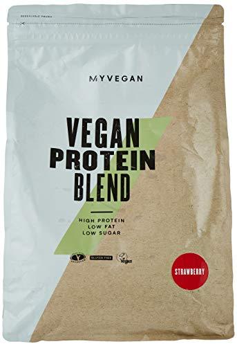 Vegan Protein Blend, Supplement Strawberry, 2500 g