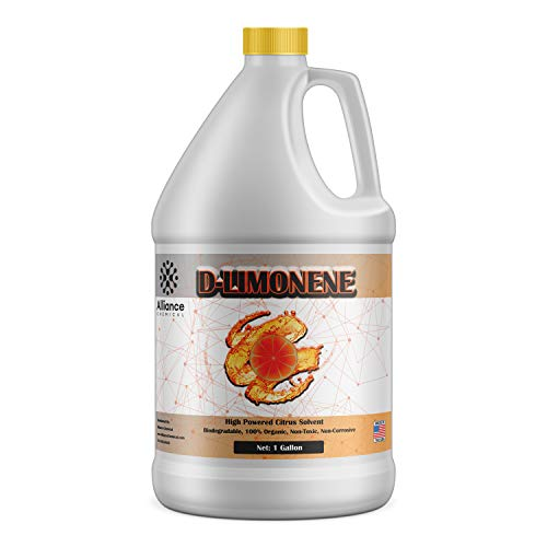 Alliance Chemical 100% D-Limonene - One Gallon Jug - Natural Orange Oil - All Natural Product Extracted from Orange Peels
